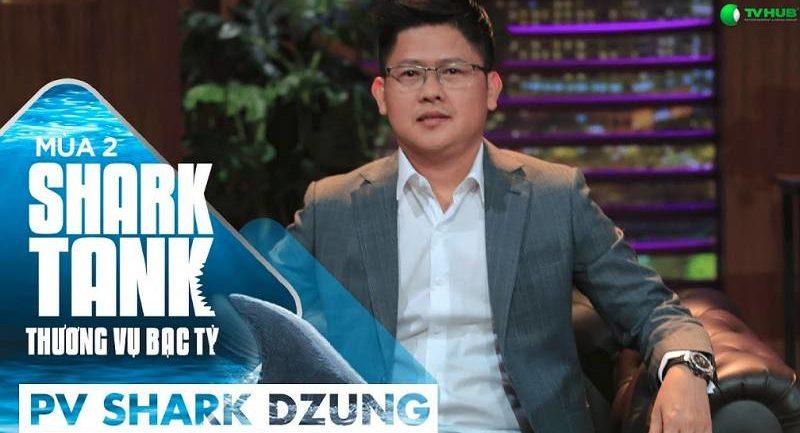 Tiểu sử Shark Dũng – Dzung Nguyen – Nguyễn Mạnh Dũng